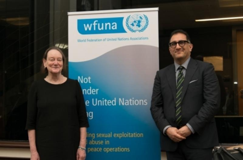 Briefing with Jane Connors, UN Victim's Rights Advocate on Sexual Exploitation and Abuse