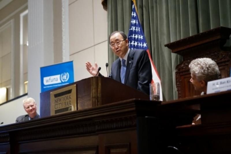 WFUNA and NYC Bar Association Host UN Secretary General