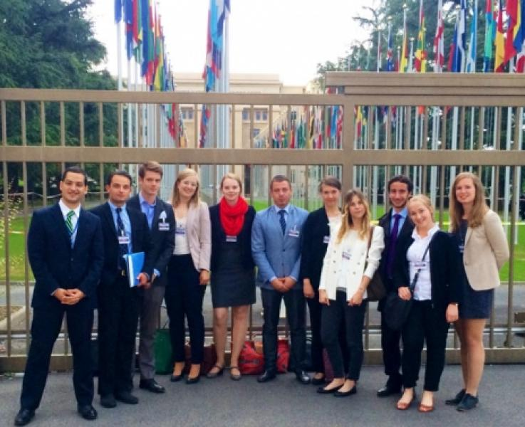 European Youth Reps Share Best Practices at UNA Meeting