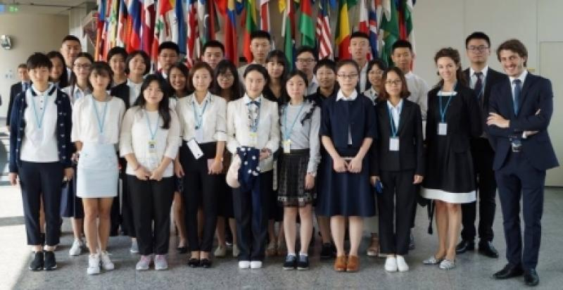 WFUNA's Advanced Training Program at the UN in Vienna: China, August 2016