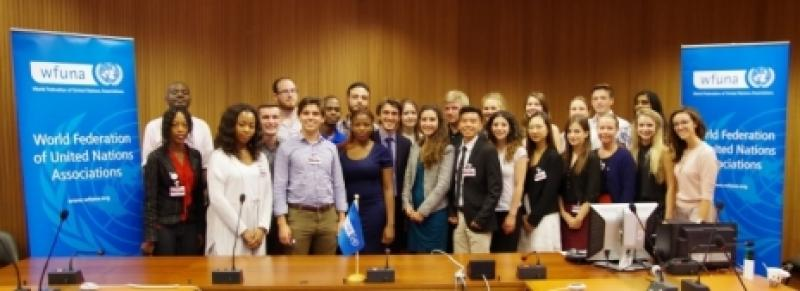 WFUNA's Sixth Human Rights Youth Program