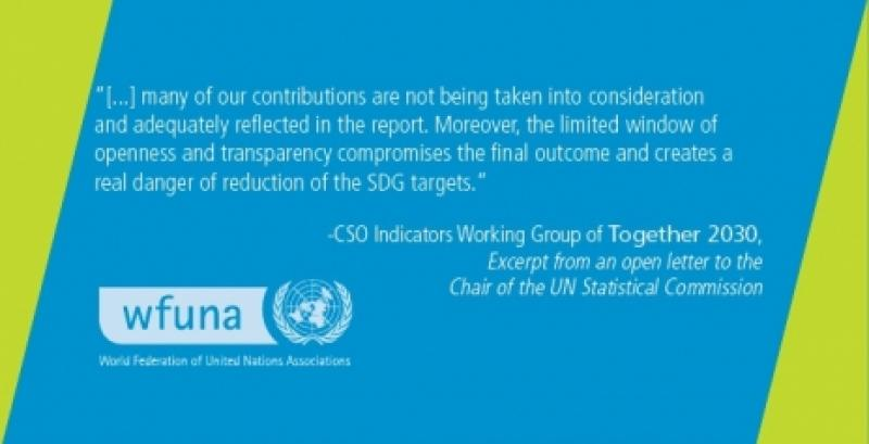 WFUNA Endorses Open Letter to UN Statistical Commission