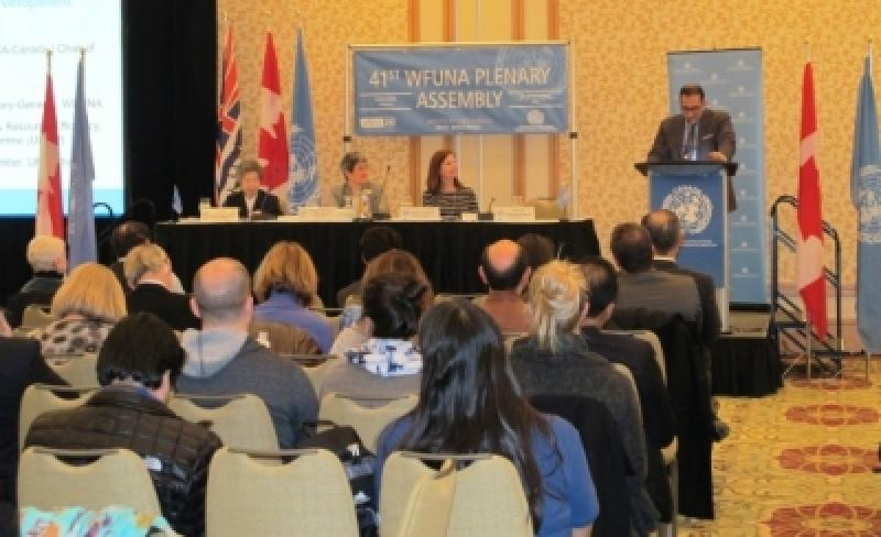 WFUNA 41st Plenary Assembly in Vancouver, Canada