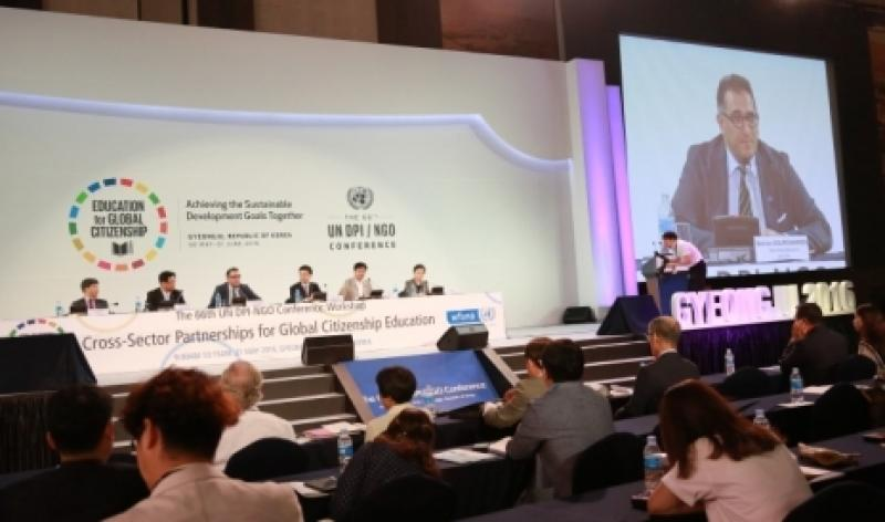 WFUNA at 66th DPI NGO Conference