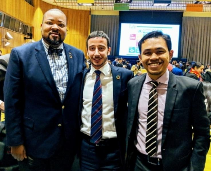WFUNA Youth Advisory Council at the ECOSOC Youth Forum