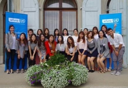 WFUNA's Fourth Advanced Training at the UN: Korea with Sookmyung Women's University