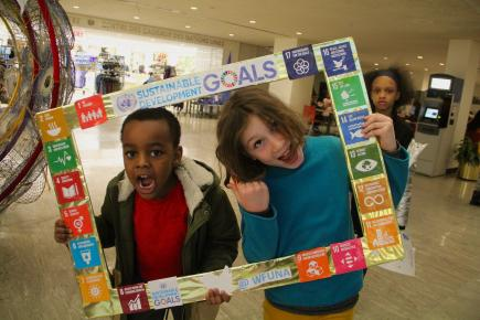 Kids Celebrate UN Kids Day with WFUNA
