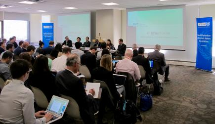 WFUNA Launches 16+ Forum with Breakfast Event: Interlinkages across Goal 16 & 2030 Agenda