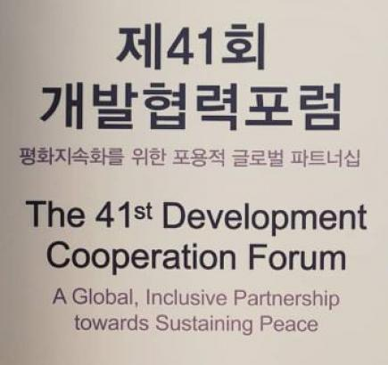 The 41st International Development Forum on Peace Calls for Inclusive Partnerships Towards Sustaining Peace