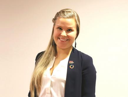 Heidi Saarinen, WFUNA Young Leader of 2019