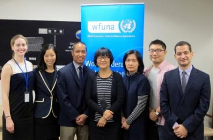 WFUNA Meets with Staff from Seoul Metropolitan Government- Volunteer Center