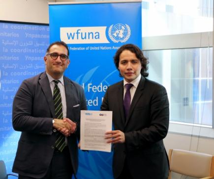 WFUNA partners with OIJ with the aim of increasing youth participation at the UN