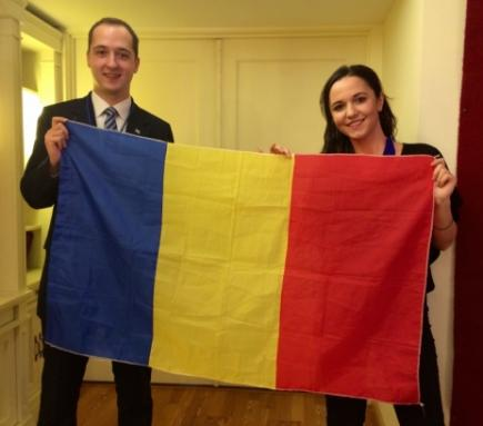 Coffee Chat Q&A: Romanian UN Youth Delegates Eliza Chirilă and Cosmin Chiriță