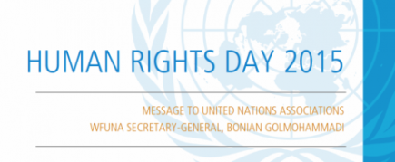 WFUNA Secretary-General Issues Statement for International Human Rights Day