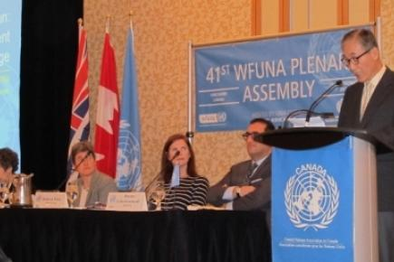 41st WFUNA Plenary Assembly Adopted 2 Statements on Violent Extremism, Refugee Crisis