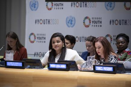 Youth Participation at the UN